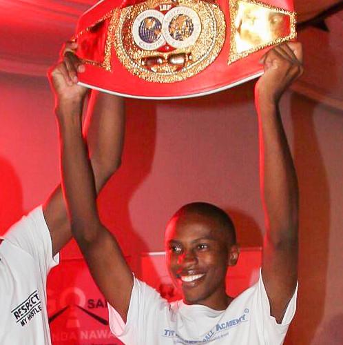 J2Ex Alumni Titus Mwahafa Winning Awards in Namibia